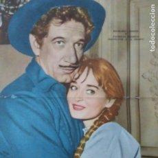 Cine: CANAL TV ARGENTINA LAMINA CENTRAL ACTORES USA. 1960 ENVIO INCLUIDO EN EL VALOR FINAL. Lote 234536980