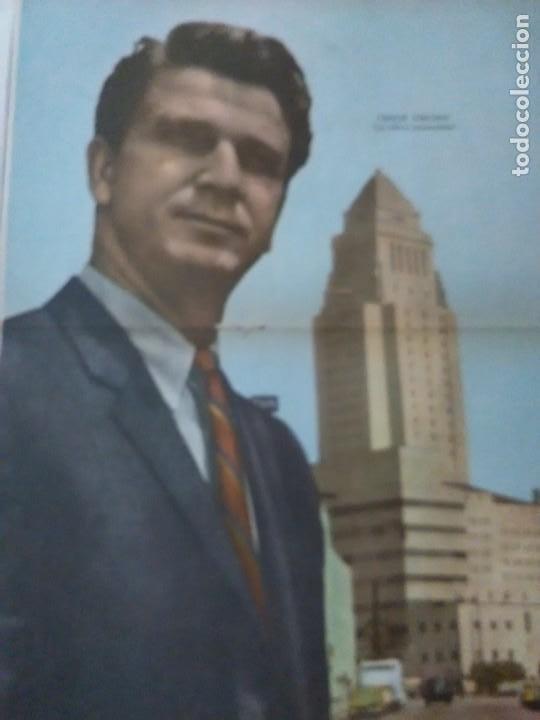 CANAL TV ARGENTINA LAMINA CENTRAL ACTORES USA. 1960 ENVIO INCLUIDO EN EL VALOR FINAL (Cine - Posters y Carteles - Series TV)