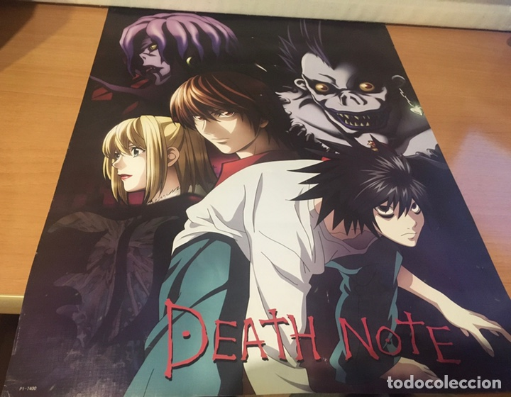 Cine: Póster Death Note 57 cm x 42,5 cm - Foto 2 - 242423730