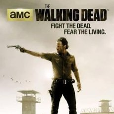 Cine: THE WALKING DEAD - FIGHT THE DEAD (POSTER). Lote 254238385