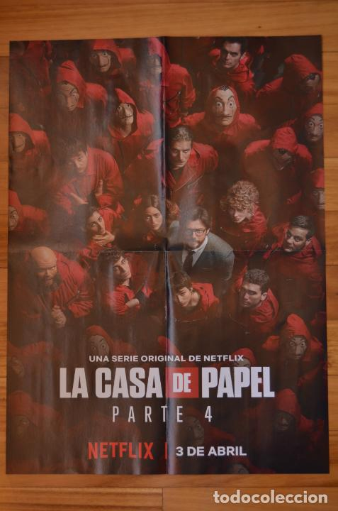 POSTER O CARTEL DOBLE #092 DE LA CASA DE PAPEL Y ELITE (Cine - Posters y Carteles - Series TV)