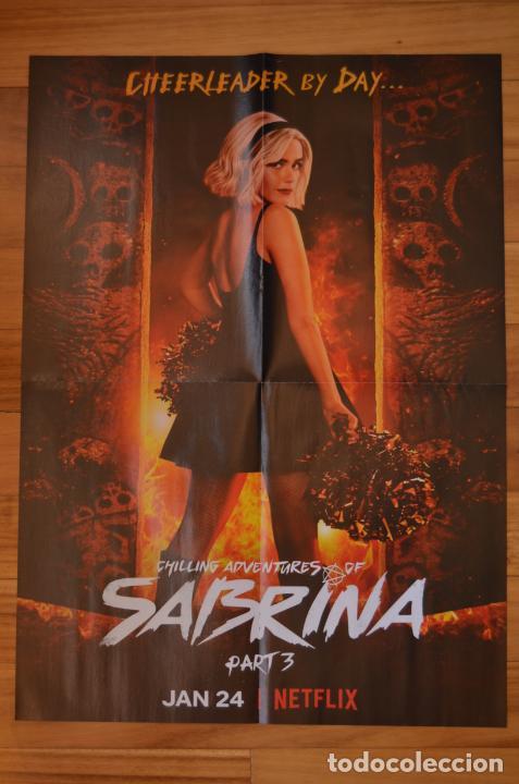 POSTER O CARTEL DOBLE #098 DE LAS ESCALOFRIANTES AVENTURAS DE SABRINA: PARTE 3 Y ANA DE ARMAS (Cine - Posters y Carteles - Series TV)
