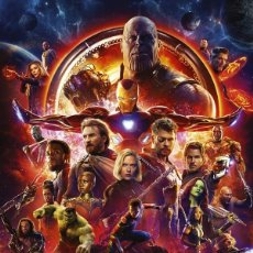 Cine: POSTER MARVEL LOS VENGADORES: INFINITY WAR - ONE SHEET (POSTER 61 X 91,5). Lote 269127408