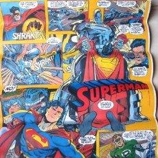 Cine: AFICHE DC COMIC POSTER ANTIGUO SUPERMAN 50X72 CM. Lote 269657118