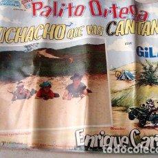 Cine: AFICHE POSTER MUCHACHO QUE VAS CANTANDO ORTEGA GILA CARRERAS. Lote 269660408