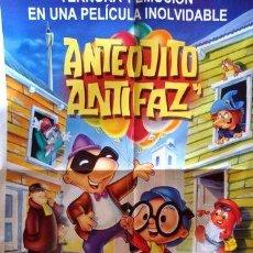 Cine: POSTER AFICHE PELICULA ANTEOJITO Y ANTIFAZ 42X55 CM FERRE. Lote 269660763