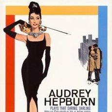 Cine: DESAYUNO CON DIAMANTES - AUDREY HEPBURN (POSTER). Lote 289300003