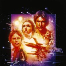 Cine: POSTER STAR WARS - EDICION ESPECIAL DE NUEVA ESPERANZA (POSTER 61 X 91,5). Lote 275548918