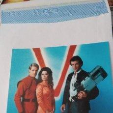Cine: FOTOGRAFÍA ORIGINAL DE LA SERIE DE TV V LOS VISITANTES AÑO 1983 VISITORS, JANE BADLER, MARC SINGER. Lote 277701008