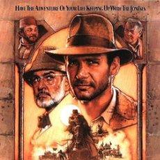Cine: INDIANA JONES Y LA ULTIMA CRUZADA (POSTER). Lote 278264418