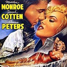 Cine: MARILYN MONROE - NIÁGARA (POSTER 32X45). Lote 278264488