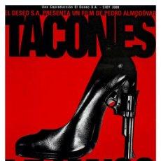 Cine: TACONES LEJANOS (POSTER). Lote 278264508