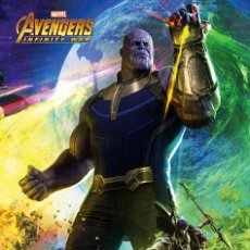 Cine: POSTER AVENGERS INFINITY WAR - THANOS (POSTER 61 X 91,5). Lote 287324573