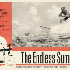Cine: POSTER THE ENDLESS SUMMER (POSTER 91,5 X 61). Lote 287324578