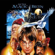 Cine: POSTER HARRY POTTER Y LA PIEDRA FILOSOFAL (HARRY POTTER AND THE SORCERER'S STONE) (POSTER 61 X 91,5). Lote 287324733