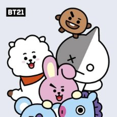 Cine: POSTER BT21 - PERSONAJES (POSTER 61 X 91,5). Lote 289335783