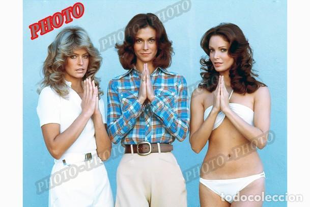 ANGELES CHARLIE KATE JACKSON FARRAH FAWCETT JACLYN SMITH CHARLIE´S ANGELS 1976 FOTO (Cine - Posters y Carteles - Series TV)