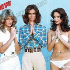 Cine: ANGELES CHARLIE KATE JACKSON FARRAH FAWCETT JACLYN SMITH CHARLIE´S ANGELS 1976 FOTO. Lote 221627878