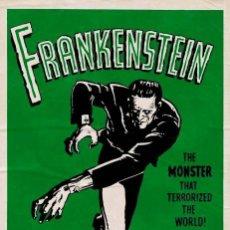 Cine: POSTER FRANKENSTEIN (POSTER 61 X 91,5). Lote 292057688