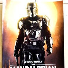 Cine: POSTER A3 STAR WARS THE MANDALORIAN 3. Lote 294292518