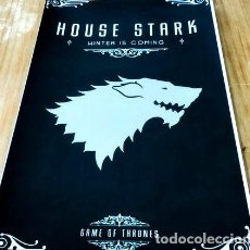 Cine: POSTER A3 STARK GAME OF THRONES 1. Lote 294306998