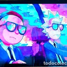Cine: POSTER A4 RICK AND MORTY 1. Lote 294308028
