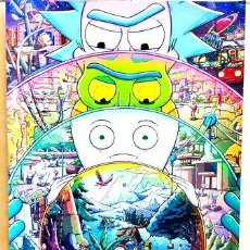 Cine: POSTER A3 RICK AND MORTY 2. Lote 294308183