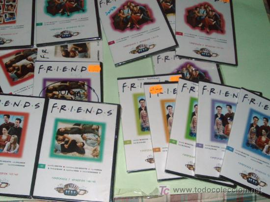 LOTE DE 21 DVD SERIE DE TELEVISION FRIENDS(TEMPORADAS 4,5,6,7) (Series TV en DVD)