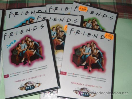Series de TV: LOTE DE 21 DVD SERIE DE TELEVISION FRIENDS(TEMPORADAS 4,5,6,7) - Foto 3 - 26729230