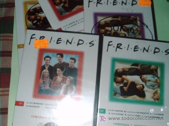 Series de TV: LOTE DE 21 DVD SERIE DE TELEVISION FRIENDS(TEMPORADAS 4,5,6,7) - Foto 2 - 26729230