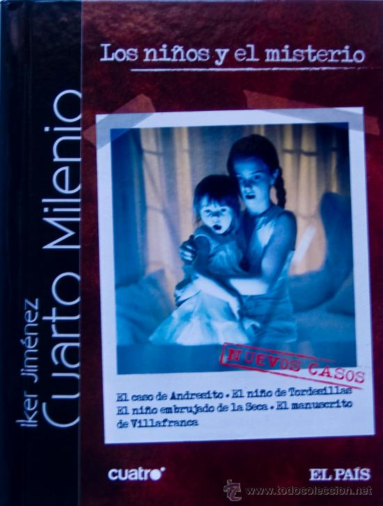 cuarto milenio. iker jimenez. libro+dvd. los ni - Comprar Series de ...