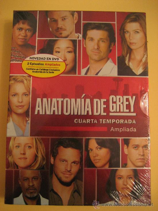 anatomia de grey : temporada 4 - Comprar Series de TV en DVD en ...