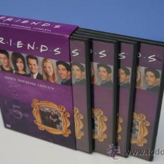 Cine: PACK DVD FRIENDS TEMPORADA 5 COMPLETA. Lote 26423341
