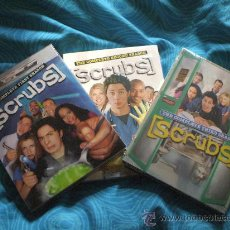 Series de TV: SCRUBS TEMPORADAS 1, 2 Y 3 ( EN INGLES ) ¡NUEVAS! NTCS DVD. Lote 25173157