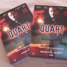 Series de TV: SERIE QUART, EL HOMBRE DE ROMA. 6 DVD - ROBERTO ENRIQUEZ/ ANA ALVAREZ, ENTRE OTROS - DIVISA. Lote 28146457