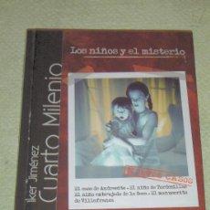 Series de TV: IÑI LIBRO DVD. IKER JIMÉNEZ. CUARTO MILENIO. LOS NIÑOS Y EL MISTERIO. LOTE ALFA.. Lote 30326200