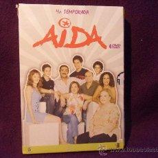 Cine: AIDA. 4ª TEMPORADA. ESTUCHE CON 4 DVD'S. 14 CAPITULOS. CON SEÑALES DE USO.. Lote 33899364