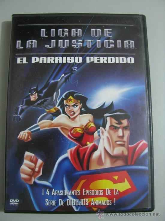 LIGA DE LA JUSTICIA (EL PARAISO PERDIDO) COMPRA MINIMA EN DVD'S 8€ (LEER DESCRIPCION) (Series TV en DVD)