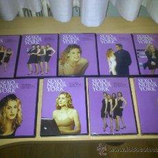 Series de TV: SEXO EN NUEVA YORK - LOTE 9 DVDS NºS DEL 1 AL 9 CON 1ª Y 2ª TEMPORADA - FALTAN LOS DVDS Nº 10 Y 11. Lote 34327237