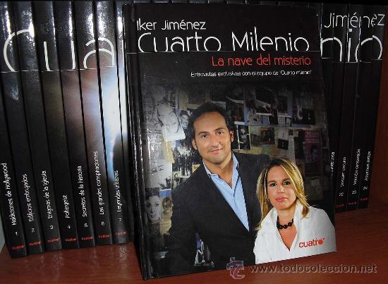 Cuarto milenio (iker jiménez) t1: colección lib - Vendido en Venta ...