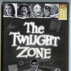 Series de TV: THE TWILIGHT ZONE VOL. 21 (EN LOS LÍMITES DE LA REALIDAD) - 1959 - ROD SERLING - DVD NUEVO. Lote 34334660