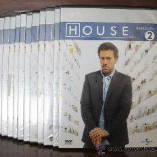 Series de TV: HOUSE. DVDS TEMPORADA 2 COMPLETA. Lote 140883244