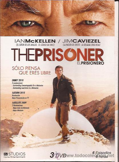 DVD-EL PRISIONERO-VERSION MODERNA-JIM CAVIEZEL IAN MCKELLEN-TV-3 DVD (Series TV en DVD)