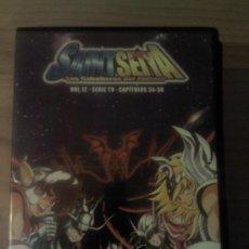 Series de TV: DVD SAINT SEIYA; CABALLEROS DEL ZODIACO . Lote 36030052
