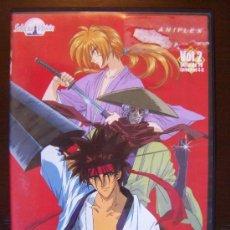 Series de TV: DVD KENSHIN EL GUERRERO SAMURAI VOL 2 EPISODIOS 4-6 (5Ñ). Lote 36351120
