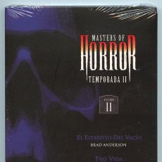 Series de TV: MASTERS OF HORROR - 2ª TEMPORADA - VOL. 2 - B. ANDERSON - J. CARPENTER - D. ARGENTO - DVD PRECINTADO. Lote 36470960