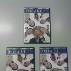 """Series de TV: PACK DVD """"HOUSE: TEMPORADA 1"""" EPISODIOS 1 AL 6 EN 3 DISCOS. EN ESPAÑOL. Lote 36596474"""