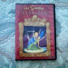 Series de TV: DVD LOS SIMPSON CLASICOS. LOS SIMPSON VAN A HOLLYWOOD. Lote 36638192