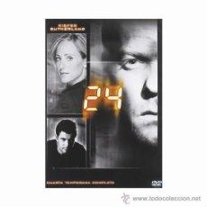 Series de TV: DVD ORIGINAL * 24 *. SERIE TV (4ª TEMPORADA/7 DISCOS). COMO NUEVA.. Lote 36923981