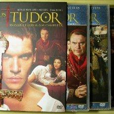 Cine: LOS TUDOR. PRIMERA TEMPORADA COMPLETA (3 DISCOS) DVD. Lote 37027935